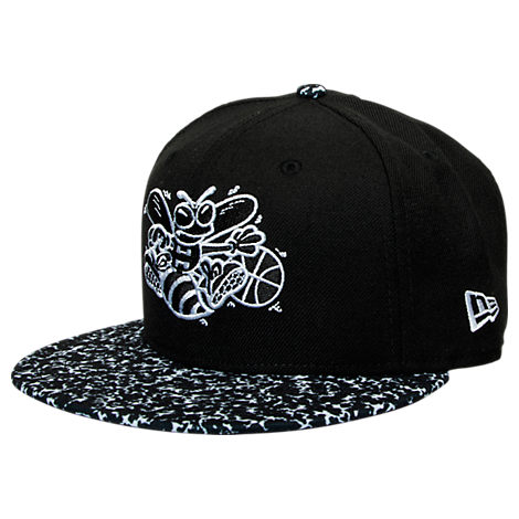 New Era Charlotte Hornets NBA Composition Hook Snapback Hat