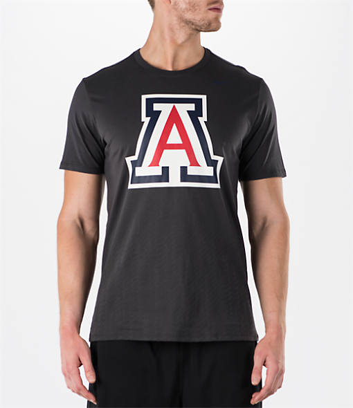 Men's Nike Arizona Wildcats College Ignite Crew T-Shirt