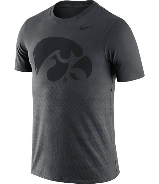 Men's Nike Iowa Hawkeyes College Ignite Crew T-Shirt