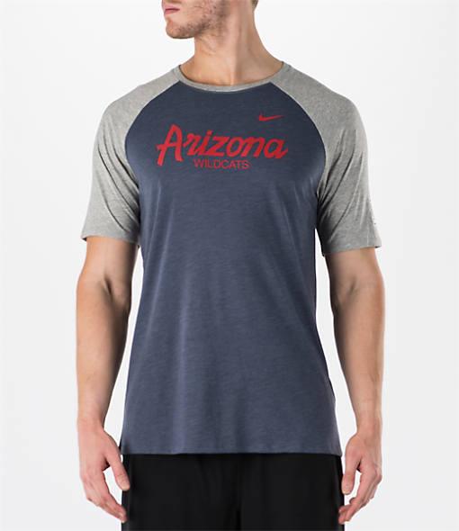 Men's Nike Arizona Wildcats College Script Tri-Blend Raglan Shirt