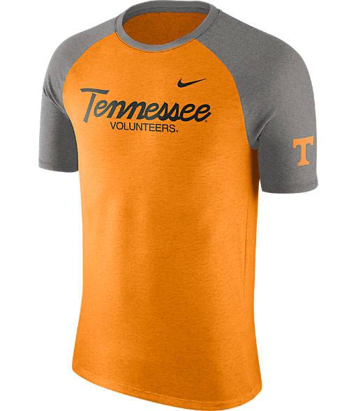 Men's Nike Tennessee Volunteers College Script Tri-Blend Raglan Shirt