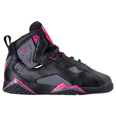 Girls' Preschool Jordan True Flight Basketball Shoes