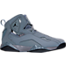 Right view of Men's Jordan True Flight Basketball Shoes in 027