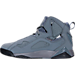 Left view of Men's Jordan True Flight Basketball Shoes in 027
