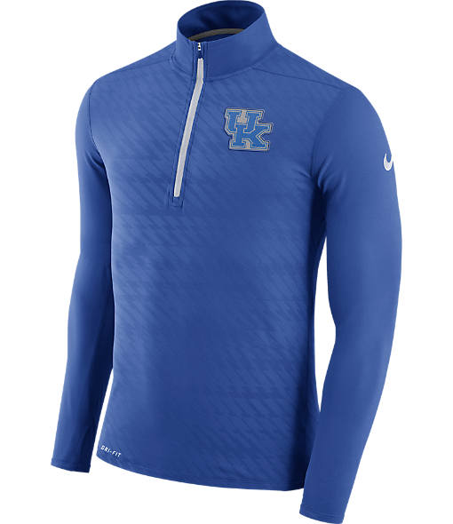 Men's Nike Kentucky Wildcats College Dry Element Quarter-Zip Jacket