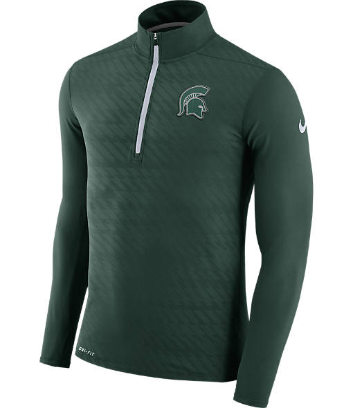 Men's Nike Michigan State Spartans College Dry Element Quarter-Zip Jacket