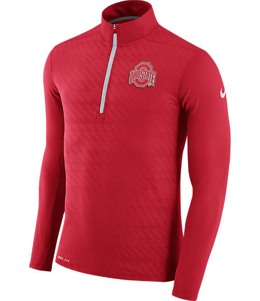 Men's Nike Ohio State Buckeyes College Dry Element Quarter-Zip Jacket