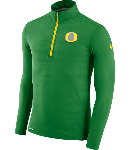 Men's Nike Oregon Ducks College Dry Element Quarter-Zip Jacket