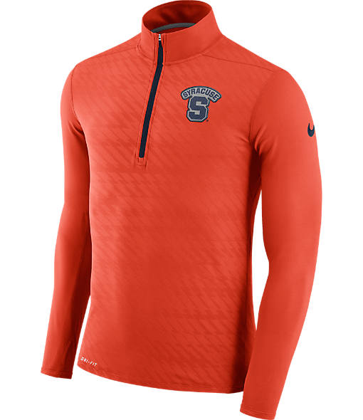 Men's Nike Syracuse Orange College Dry Element Quarter-Zip Jacket