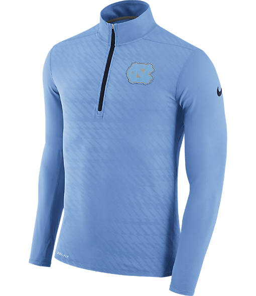 Men's Nike UNC Tar Heels College Dry Element Quarter-Zip Jacket
