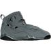 Right view of Boys' Preschool Jordan True Flight Basketball Shoes in 027