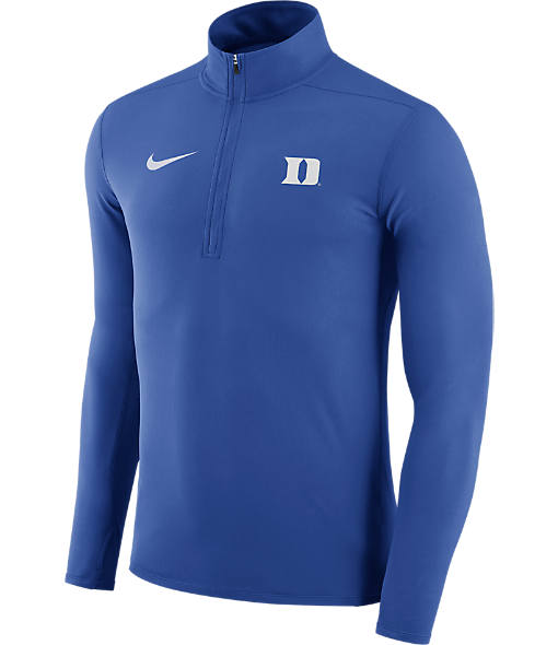 Men's Nike Duke Blue Devils College Element Half-Zip Shirt