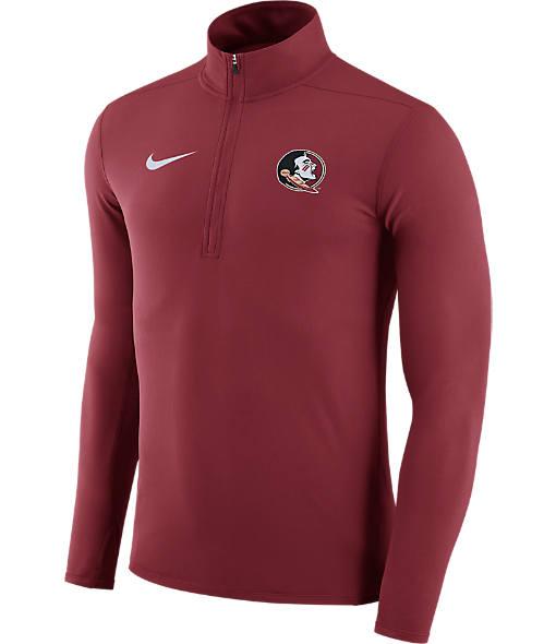 Men's Nike Florida State Seminoles College Element Half-Zip Shirt