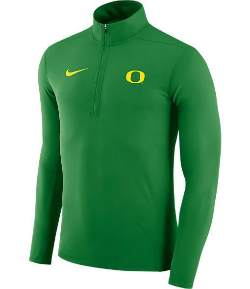 Men's Nike Oregon Ducks College Element Half-Zip Shirt