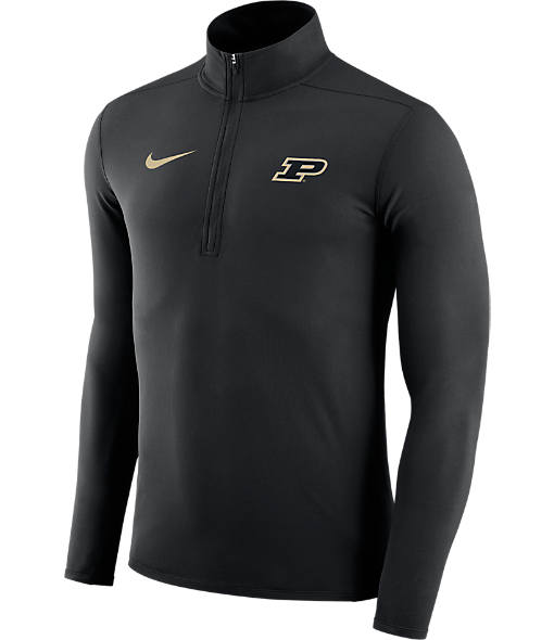 Men's Nike Purdue Boilermakers College Element Half-Zip Shirt