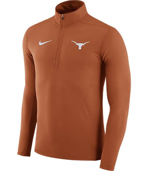 Men's Nike Texas Longhorns College Element Half-Zip Shirt