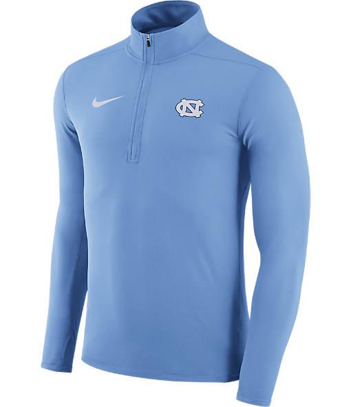 Men's Nike UNC Tar Heels College Element Half-Zip Shirt