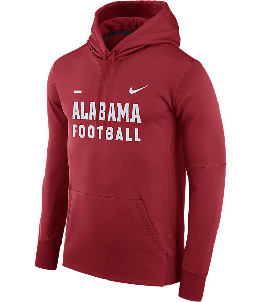 Men's Nike Alabama Crimson Tide College Therma Hoodie