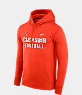 Men's Nike Clemson Tigers College Therma Hoodie