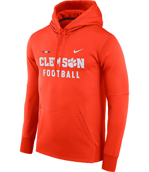 Men's Nike Clemson Tigers College Therma Hoodie