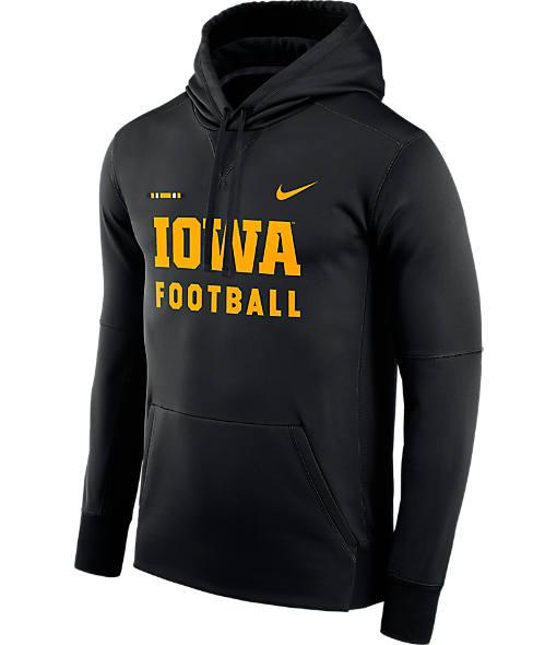 Men's Nike Iowa Hawkeyes College Therma Hoodie
