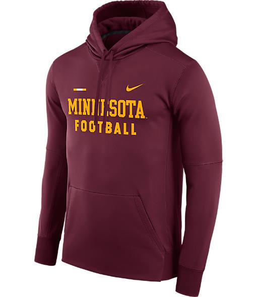 Men's Nike Minnesota Golden Gophers College Therma Hoodie