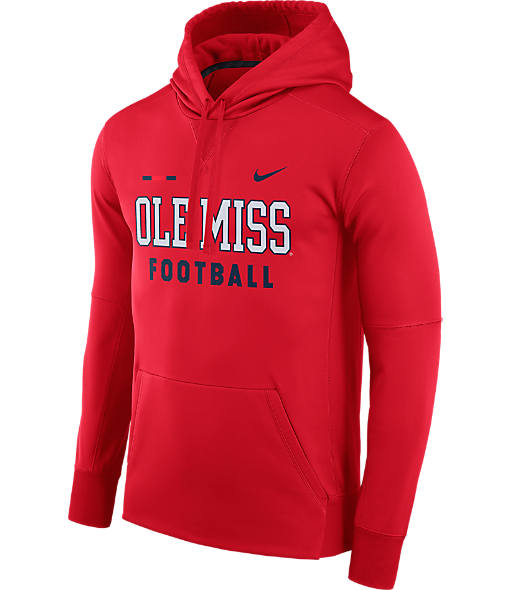 Men's Nike Mississippi Rebels College Therma Hoodie