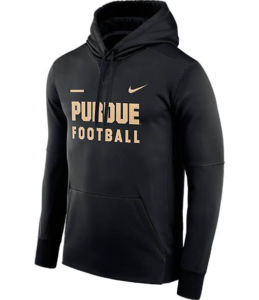 Men's Nike Purdue Boilermakers College Therma Hoodie