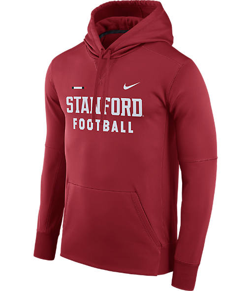 Men's Nike Stanford Cardinal College Therma Hoodie