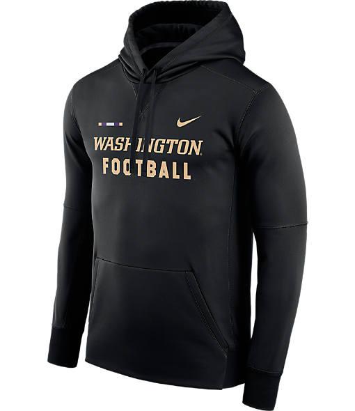 Men's Nike Washington Huskies College Therma Hoodie