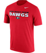 Men's Nike Georgia Bulldogs College Legend Authority Local T-Shirt