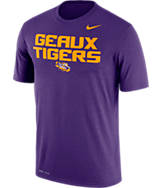Men's Nike LSU Tigers College Legend Authority Local T-Shirt