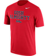 Men's Nike Mississippi Rebels College Legend Authority Local T-Shirt