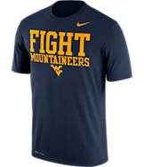 Men's Nike West Virginia Mountaineers College Legend Authority Local T-Shirt