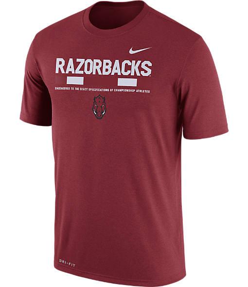 Men's Nike Arkansas Razorbacks College Legend Staff T-Shirt