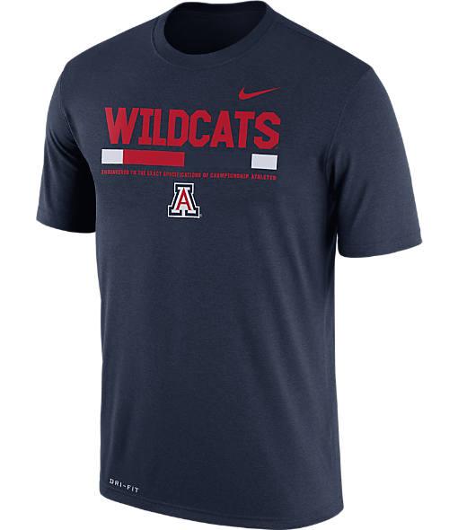 Men's Nike Arizona Wildcats College Legend Staff T-Shirt