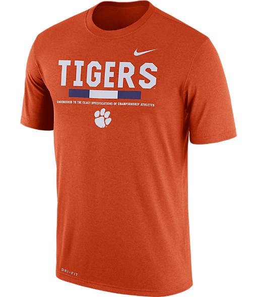 Men's Nike Clemson Tigers College Legend Staff T-Shirt