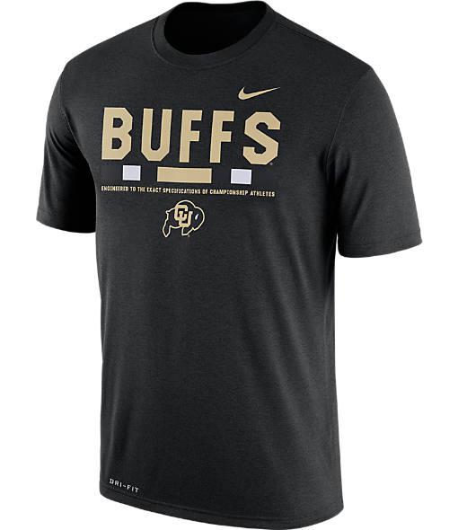 Men's Nike Colorado Buffaloes College Legend Staff T-Shirt