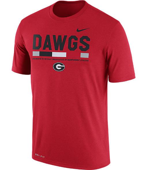 Men's Nike Georgia Bulldogs College Legend Staff T-Shirt