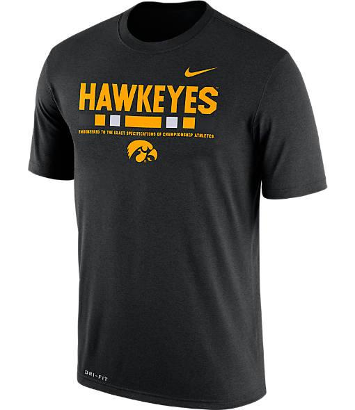 Men's Nike Iowa Hawkeyes College Legend Staff T-Shirt