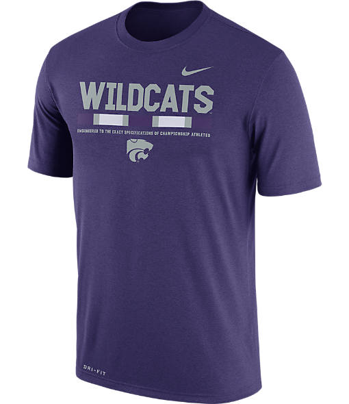 Men's Nike Kansas State Wildcats College Legend Staff T-Shirt