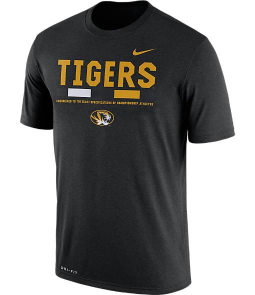 Men's Nike Missouri TIgers College Legend Staff T-Shirt