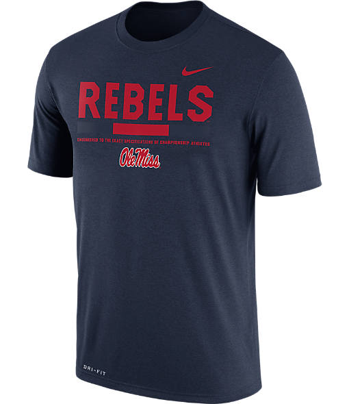 Men's Nike Mississippi Rebels College Legend Staff T-Shirt