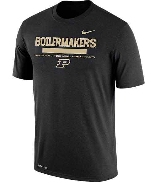 Men's Nike Purdue Boilermakers College Legend Staff T-Shirt