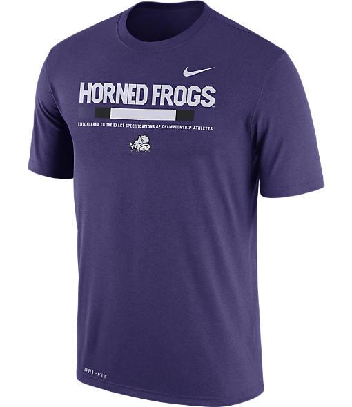 Men's Nike TCU Horned Frogs College Legend Staff T-Shirt