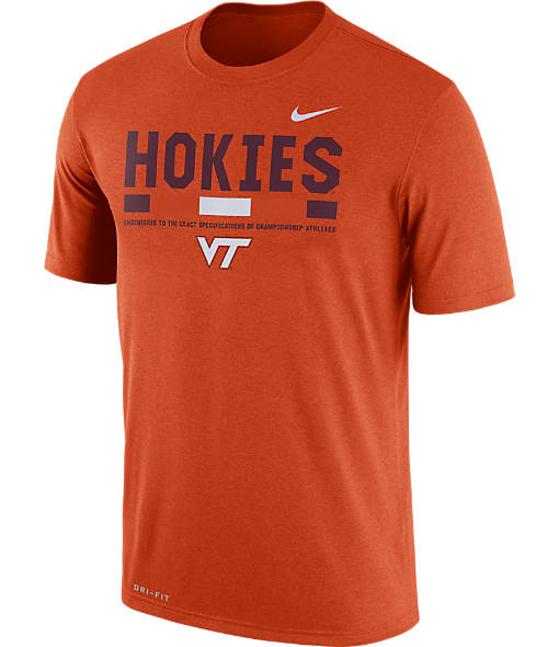 Men's Nike Virginia Tech Hokies College Legend Staff T-Shirt