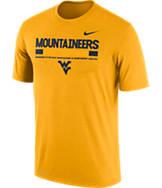 Men's Nike West Virginia College Legend Staff T-Shirt