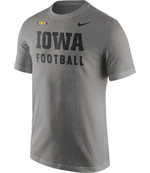 Men's Nike Iowa Hawkeyes College Facility T-Shirt