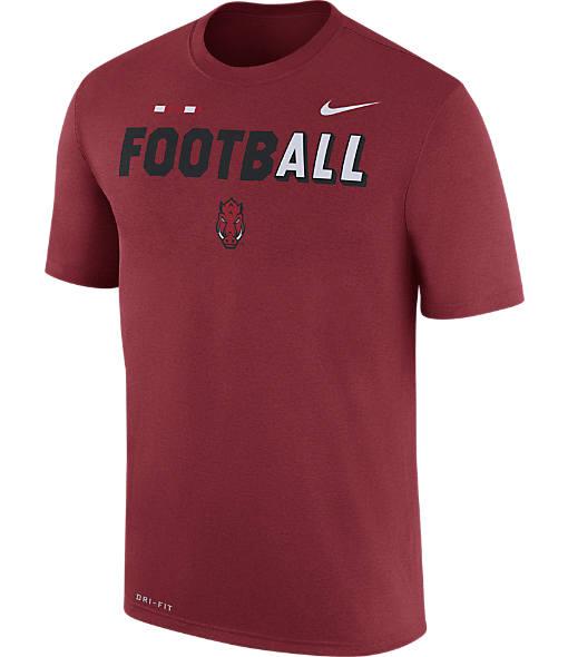 Men's Nike Arkansas Razorbacks College All Sideline T-Shirt