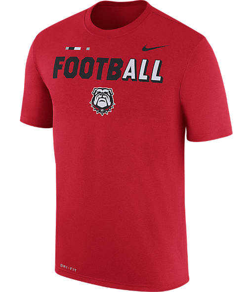 Men's Nike Georgia Bulldogs College All Sideline T-Shirt